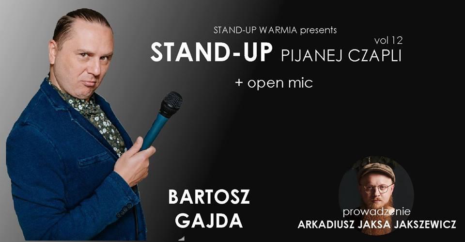 Stand Up Pijanej Czapli Bartosz Gajda Open Mic